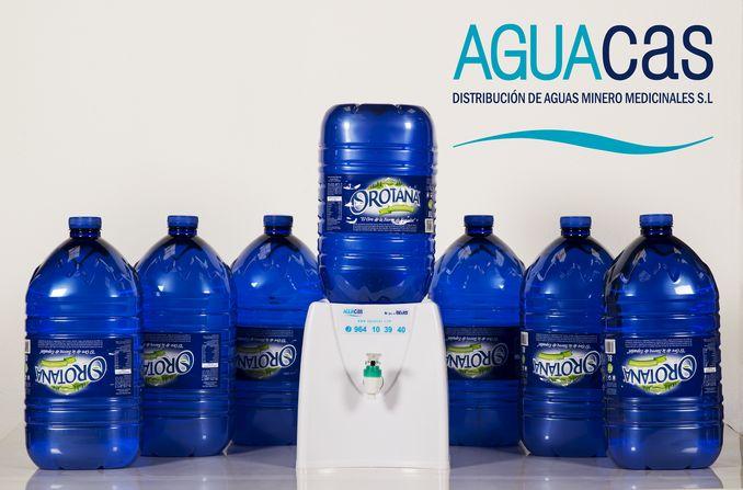 Agua orotana dispensador promo Alta